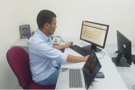 الطالب المتميّز محمد وائل وتد يمثّل المدرسة في الألمبيادة الدوليّة في الرياضيات