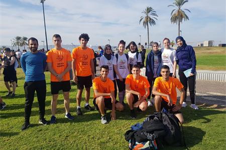 مشاركة طلاب القاسمي الثانويّة في مسابقة الحقل في حيفا وتميّزهم