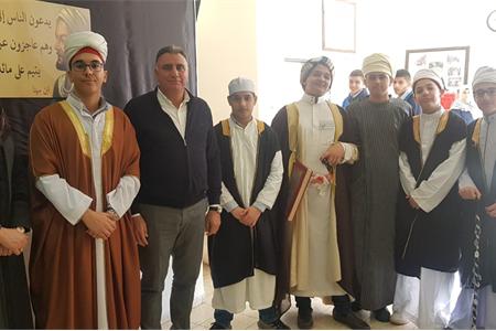 فعاليّات رائعة من انتاج طلاب الصفوف التاسعة في يوم العلماء المسلمين